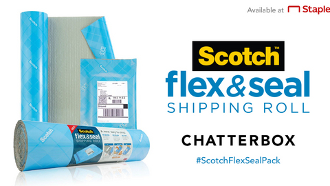 Scotch™ Brand Flex & Seal Shipping Roll Chatterbox