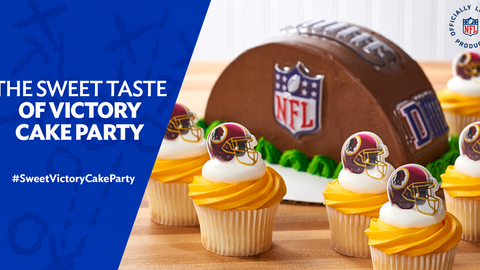 Cakes.com The Sweet Taste of Victory Cake Party