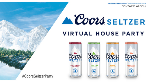 Coors Seltzer Virtual House Party