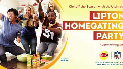 Lipton® Homegating Party with Walmart