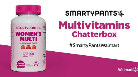 SmartyPants Multivitamins Chatterbox