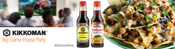 Kikkoman® Big Game House Party House Party