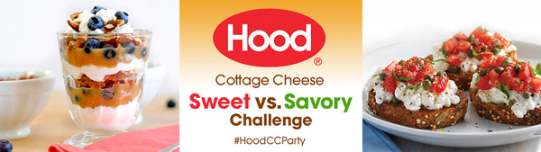 Hood<sup>®</sup> Cottage Cheese Sweet vs. Savory Challenge House Party