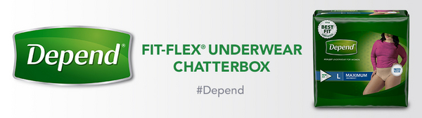 Depend® FIT-FLEX® Underwear Chatterbox House Party
