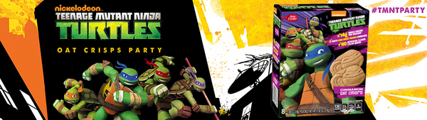Teenage Mutant Ninja Turtles™ Oat Crisps Party House Party