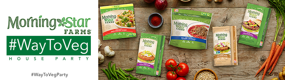 MORNINGSTAR FARMS® #WayToVeg Party