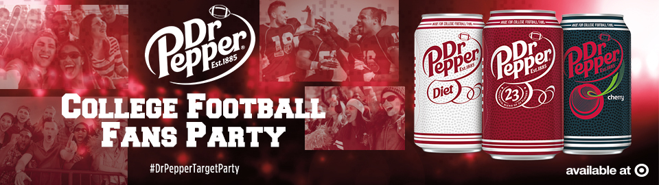 FREE Dr Pepper College Footbal...