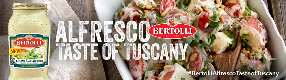 Bertolli® Alfresco Taste of Tuscany Party