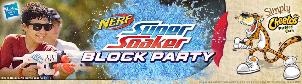 NERF SUPER SOAKER Block Party