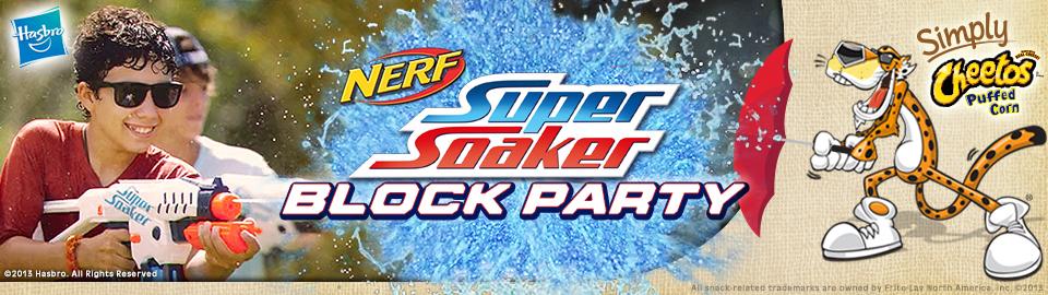NERF SUPER SOAKER Block Party