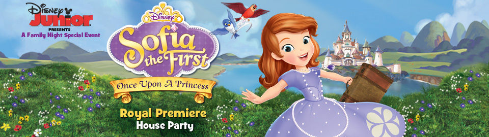 Disney Junior's Sofia the First Royal Premiere House Party