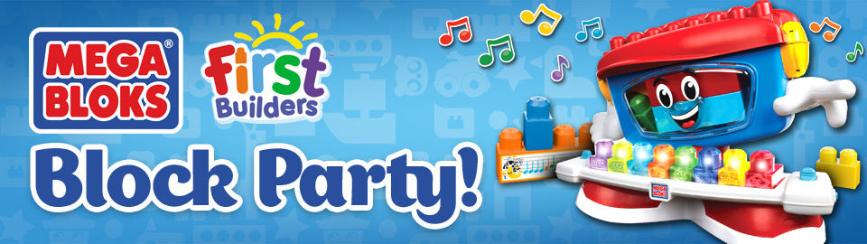 Mega Bloks® First Builders™ Block Party