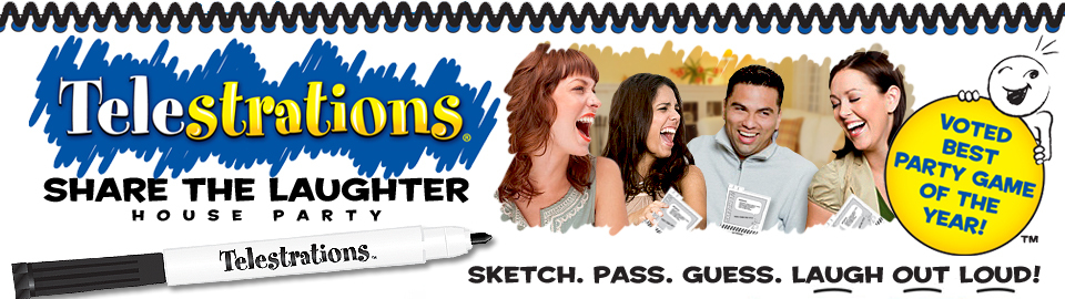 Telestrations® Share the Laughter House Party