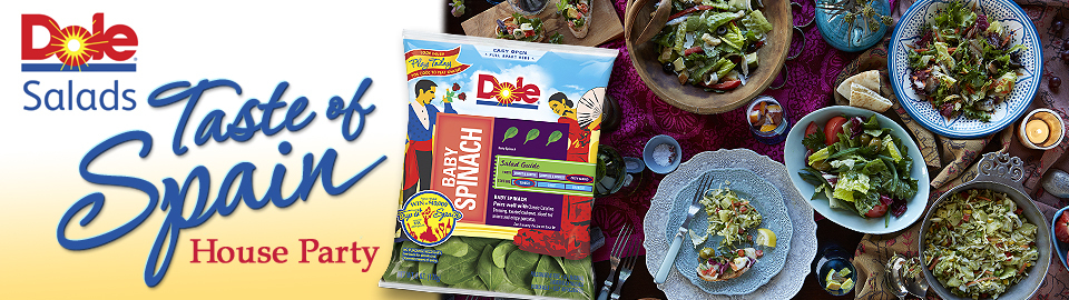 DOLE Salads Taste of Spain House Party