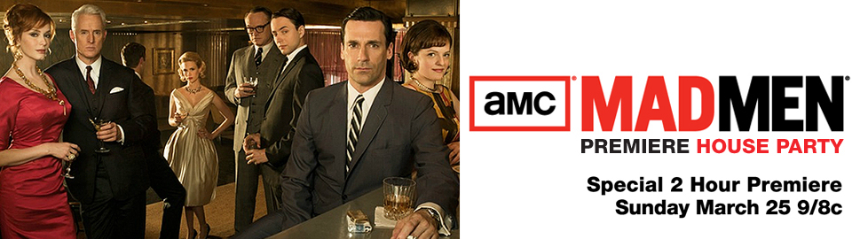 MAD MEN Premiere House Party