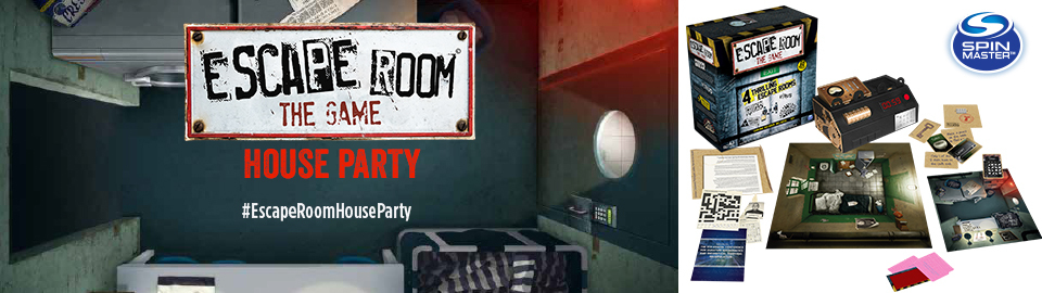 House party escape room the game house party for Escape room party