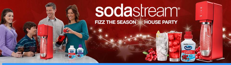 SodaStream® Fizz the Season House Party