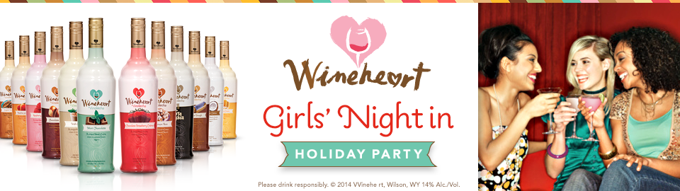 Wineheart Girls' Night in Holiday Party