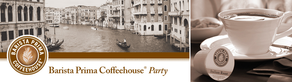 Barista Prima Coffeehouse® Party