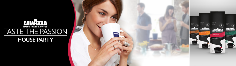 Lavazza Taste the Passion House Party