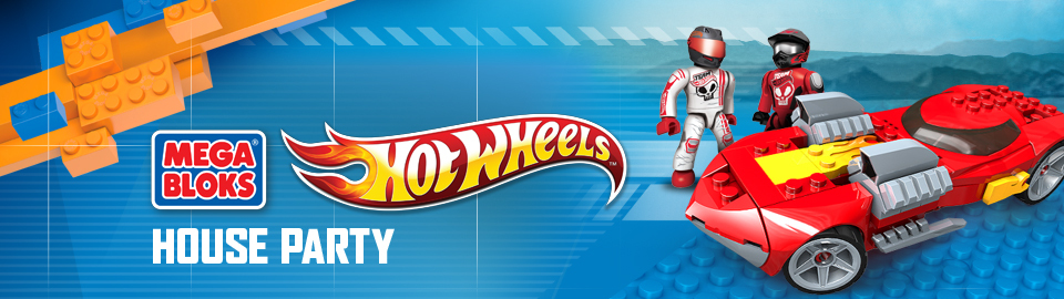 Mega Bloks® Hot Wheels™ House Party