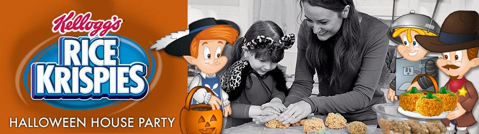 Kellogg's® Rice Krispies® Halloween House Party
