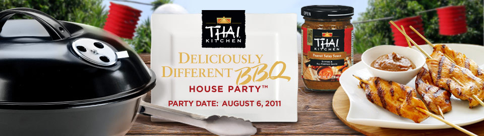 Thai Kitchen® Deliciously Different BBQ House Party