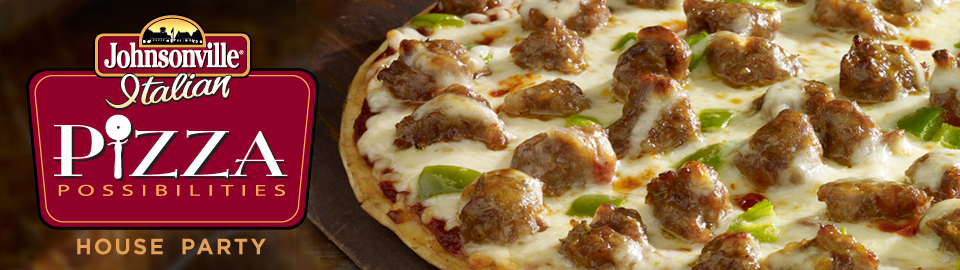 Johnsonville® Pizza Possibilities House Party