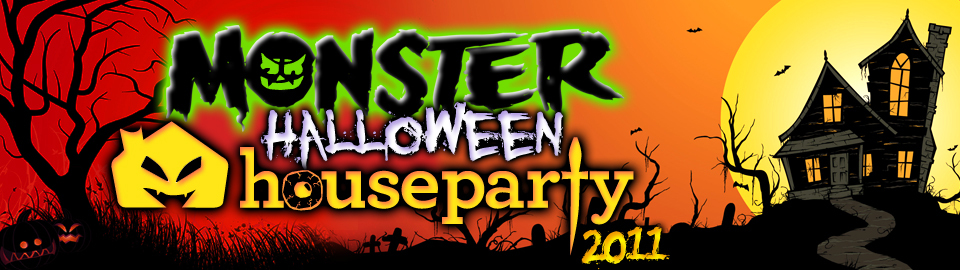 Monster Halloween House Party 2011
