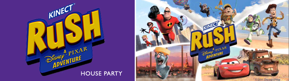 Kinect Rush: A Disney Pixar Adventure House Party