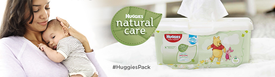Huggies Natural Care® Wipes Chatterbox