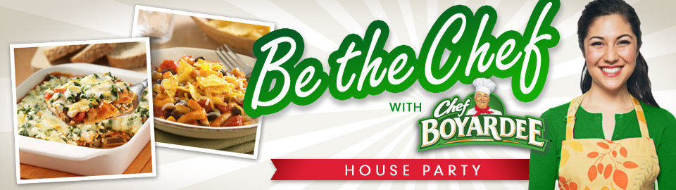 Be the Chef with Chef Boyardee
